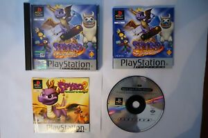 Spyro-Year-of-the-Dragon-PAL-game-PSX-PS1-Sony-Playstation-EUR-psone-clean-spiel