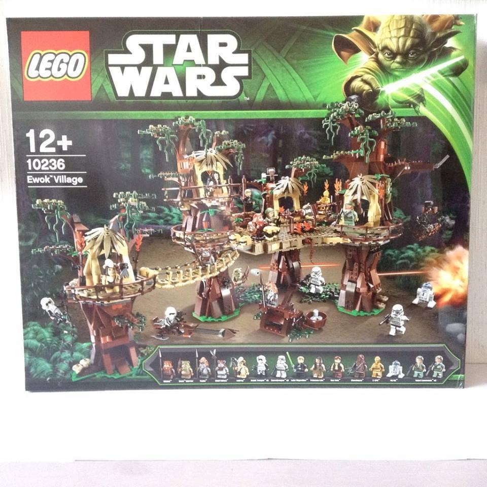 LEGO 10236 - STARS WARS - VILLAGE EWOK - NEUF - ECHANGE POSSIBLE