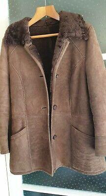 Retro Inglese Lady Cappotto in montone Completamente Foderate condizioni eccellenti Taglia 1214 | eBay