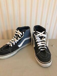 Baskets Unis Blanc Uk Taille bleu Old 7 Haut Haut 6 Noir Skool Nous Vans a8fCwq4f