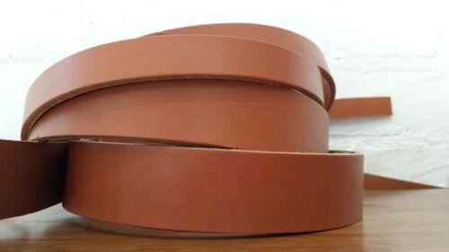 190cm Extra Lang Sattel Hellbraun 2-2.4 mm Stärke Rindsleder Leder Riemen