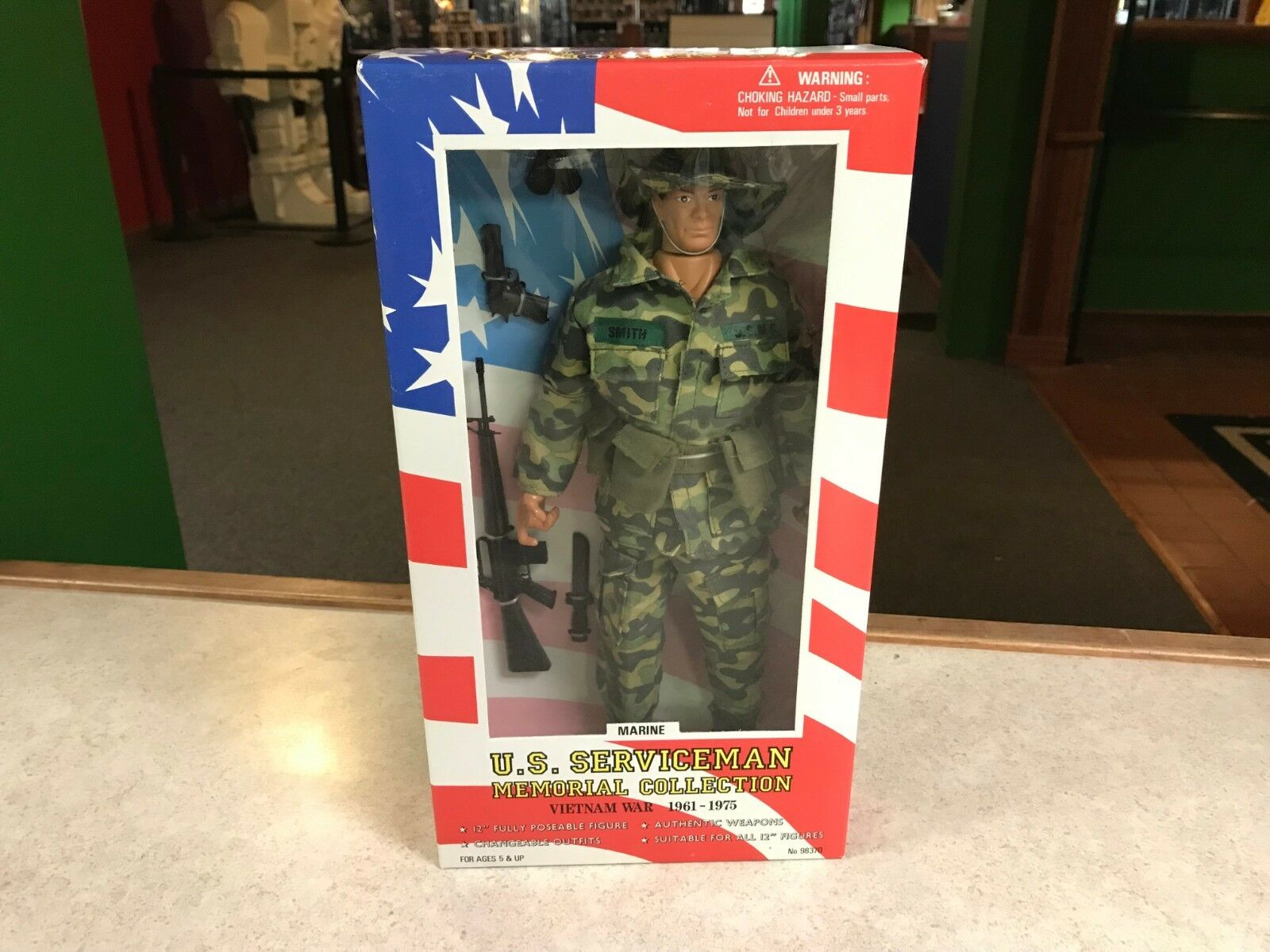 1997 Formative Soldiers of the World VIETNAM WAR MARINE Figure 12  NIB