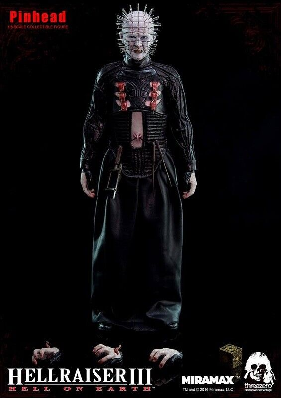 Threezero HELLRAISER III  In Scale Scale Scale 1 6th Pinhead Collectible cifra Unopened 8fe8c1