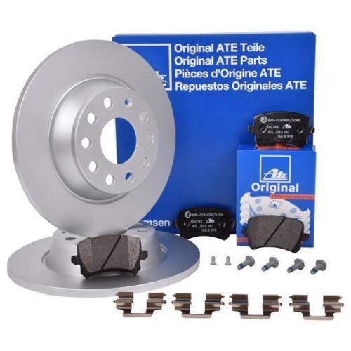 festbr. UAT Bremsenset Disques ø282 Plein Garnitures Hi VW Audi Skoda Seat avec éléments