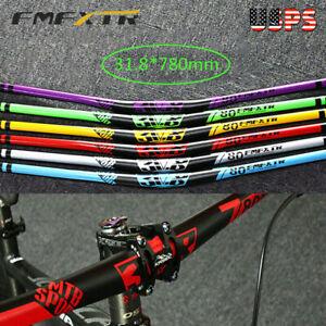 Extra Long Aluminum 31.8*780mm MTB Riser Handlebar XC//DH Bike Bicycle Riser 18mm