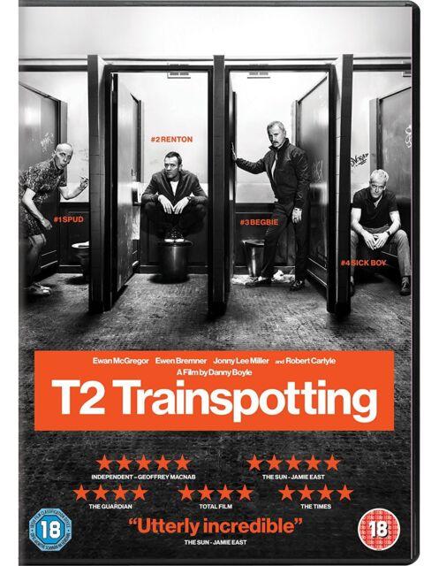 T2 TRAINSPOTTING 2017 DVD ENGLISCH