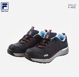 FILA Totalmente nuevo Zapatos Seguridad Zapatos Trabajo Jogger F-405 nos Puntera De Acero 7-10.5