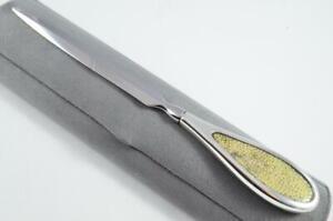 Superb Sterling Silver Handled Letter Opener QUEENS  PATTERN 1935