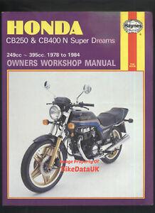Motors Vehicle Parts & Accessories Manual Haynes for 1978 Honda CB ...
