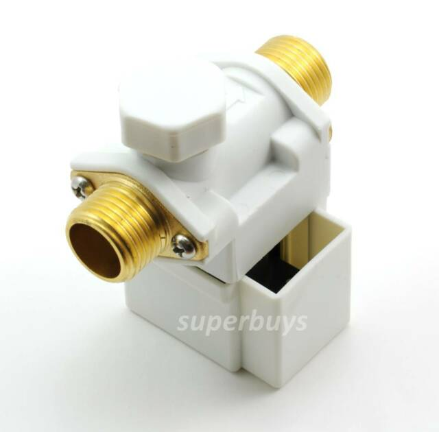Electronic Solenoid Valve for Air Water Liquid 12V DC 0-0.8MPa Electric Release