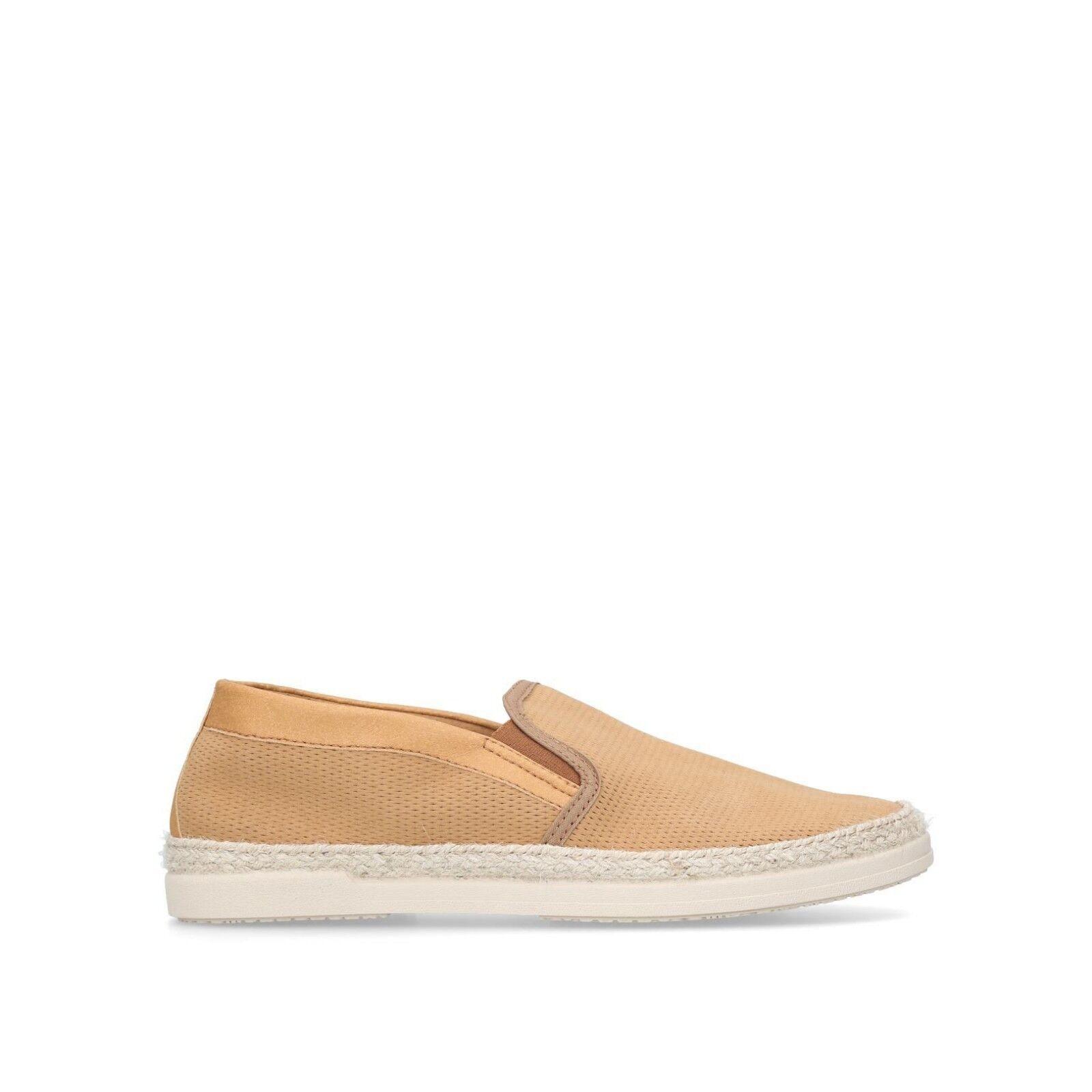 Nuevo Para hombres KURT GEIGER TED Zapatillas zapatillas tan   Talla UK 10 Stock Limitado