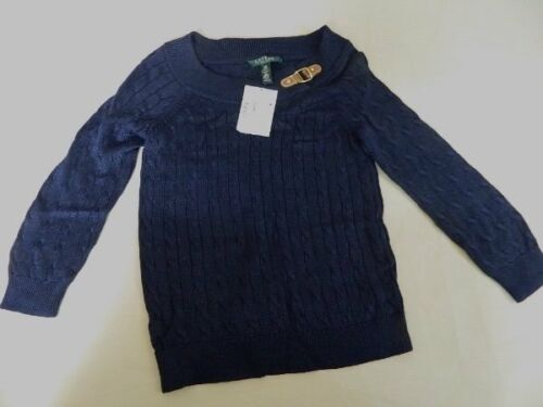 114 Retail Cable 50 Sweater Womens Pm New Lauren Knit Buckle Ralph wFzOxq86