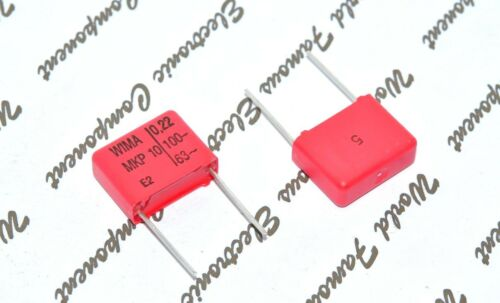 15 mm Condensateur-L 0.22µF 0,22uF 220nF 10pcs-WIMA MKP10 0.22uF 100 V 5/% Pitch