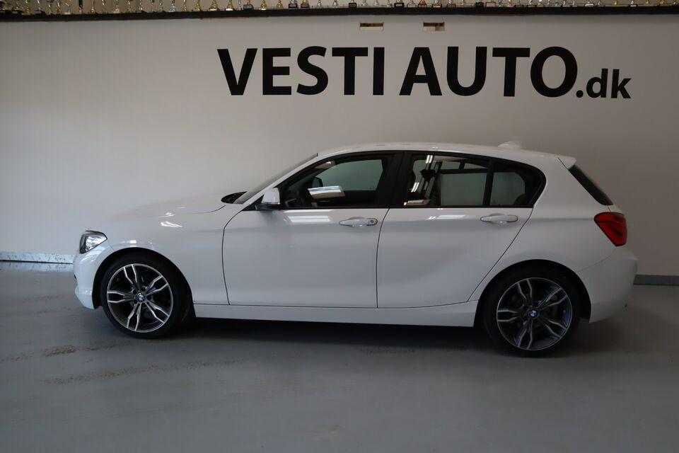 BMW 118d 2,0 aut. Van Diesel aut. Automatgear modelår 2018