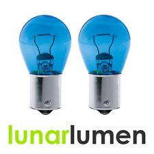 2 x Lunar Lumen BA15S 382 P21W 1156 Super White DRL 21W Halogen Bulbs