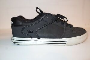 8a21a190b949 Supra Vaider Low Cut Tuf Black Perf Men s Shoes 7.5 Used