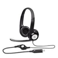Logitech H390 Usb Headset W/noise-canceling Microphone 981000014 on sale