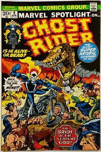 Marvel-Spotlight-9-VF-8-5-Ploog-Early-Ghost-Rider-Glossy-Cover-Wont-Last-1973