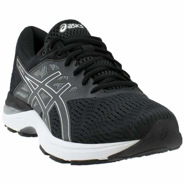ASICS Size 11.5 GEL Flux 5 Black Silver