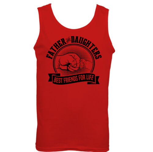 Father /& Daughters Best Friends For Life Mens Funny Father/'s Day Vest Dad