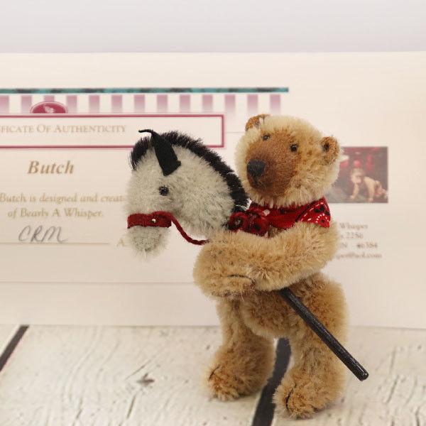 Butch von Bearly A Whisper für Cooperstown Bears