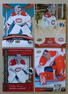 CAREY-PRICE-LOT-OF-4-CARDS-NRMT