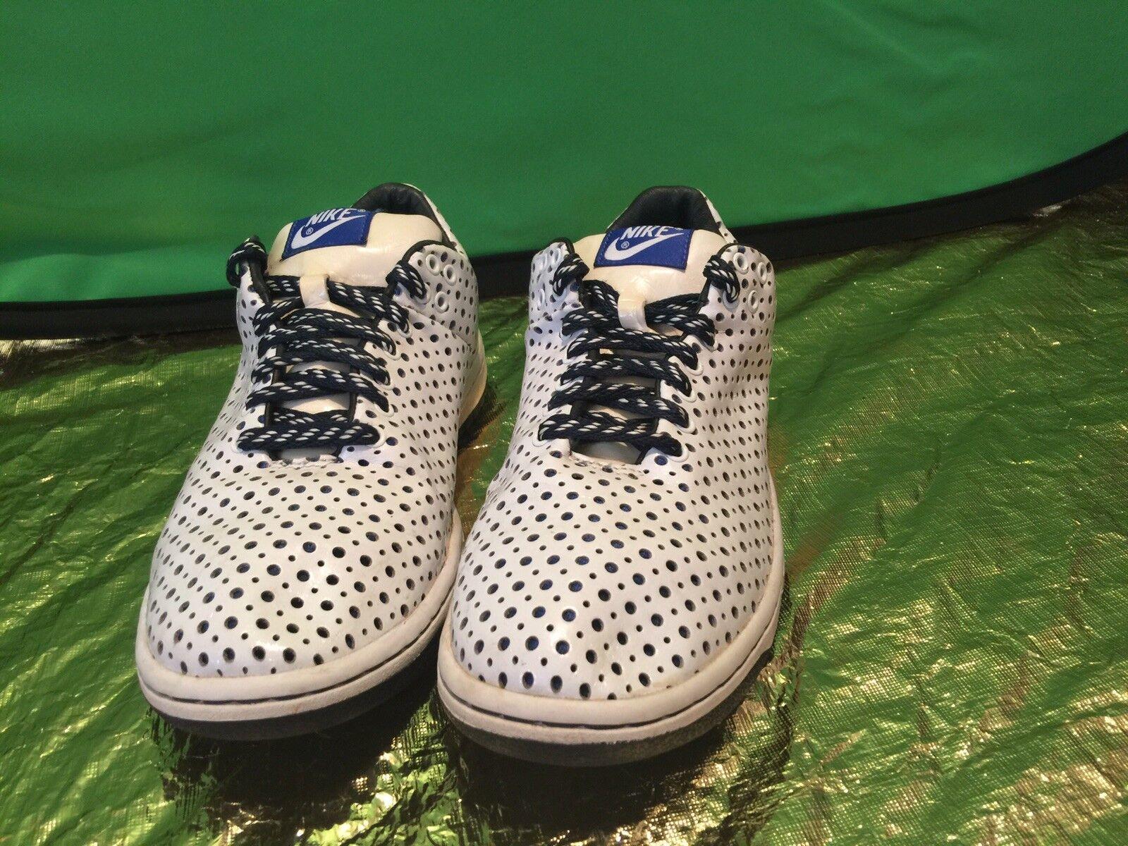 Nike Zoom Turnschuhe damen Blau Polka Dot Nike Weiß & Blau Größe 9 Pre-Owned Rare