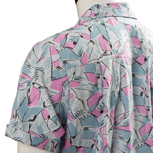 Stranger Things Season 3 Jim Hopper Cosplay Costume Short Sleeve Hawaiian Shirt