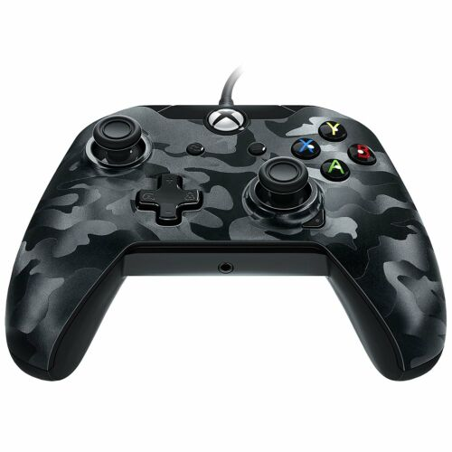 Black Camo Xbox One Wired Controller