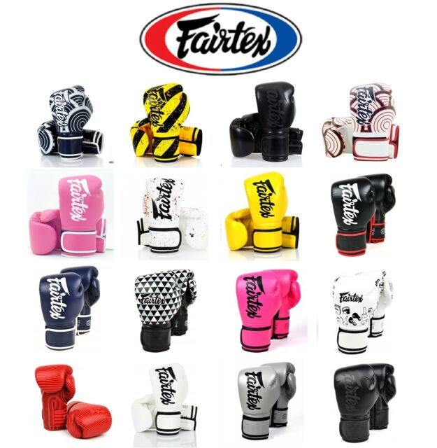 "Fairtex /""DARK CLOUD/"" Muay Thai Style Training Gloves"