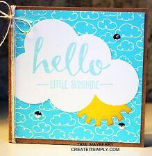 Sizzix Sunshine Card Bigz L die #659781 Retail $29.99 SWEET FUN