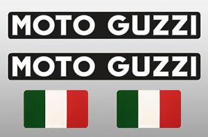 Details Zu 2 2 Stück Moto Guzzi Italien Aufkleber Set Motorrad Helm Tank