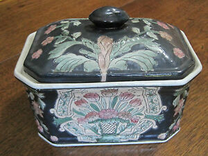 VINTAGE-amp-EXQUISITE-CHINESE-EXPORT-PORCELAIN-HAND-PAINTED-5-1-4-034-X-7-1-4-034-BOX