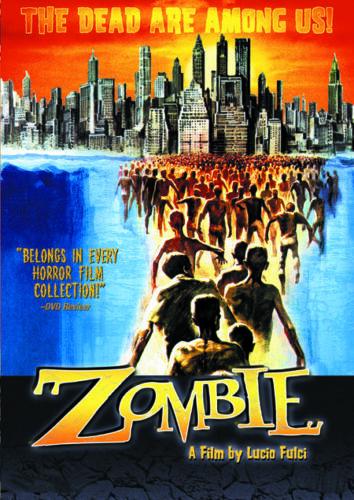 Lucio Fulci/'s Zombie 2 cult horror movie poster print