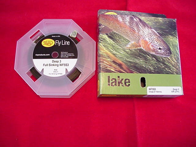 Rio in Touch Deep 3 WF6S3 Fly Line STOR NEW
