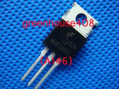 50pc MJE3055T MJE3055 3055 NPN Transistor 10A 60V  Free Shipping