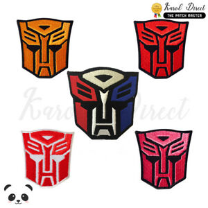 Transformer-Super-Hero-Embroidered-Iron-On-Sew-On-Patch-Badge-For-Clothes-etc