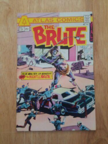 THE BRUTE #1 VF  1975 Atlas horror Bronze Age comic