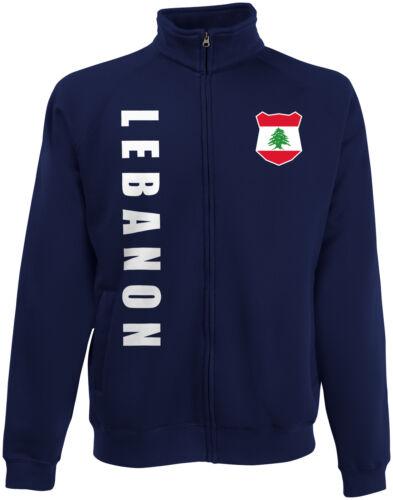 Libano Lebanon WM 2018 Felpe Giacca Maglia nome numero