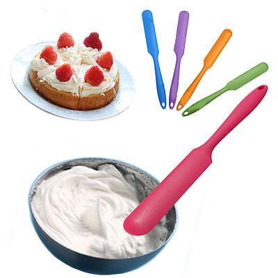Silicone Cooking Baking Scraper Cake Spatula Butter Mixer Kitchen Utensil Tool