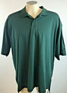 New-Nike-Golf-Polo-Shirt-Dark-Green-Dri-Fit-Athletic-Casual-Mens-XL-Free-Ship