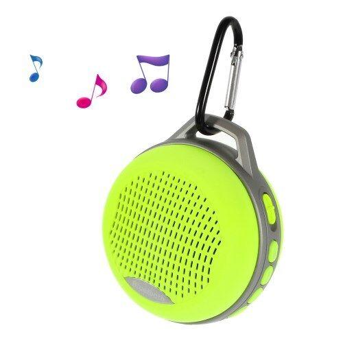 Bluetooth Sport Travel Outdoor Wireless Speaker + Hands Free Calls Neon Yellow