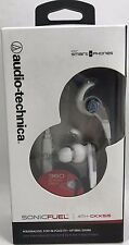 Audio-Technica - ATH-CKX5iS - SonicFuel In-ear Headphones w/ In-line Mic, White