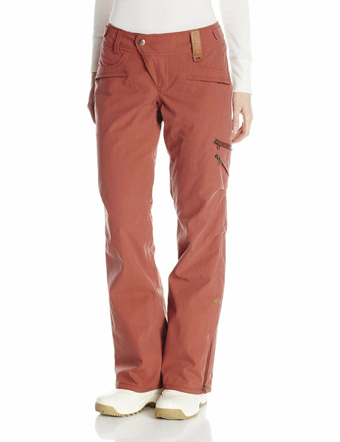 HOLDEN Women's HARVEY Snow Pants - Burnt Henna - Large - NWT