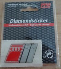 3D  Aufkleber AUDI S2 Sport Logo PPM Diamondsticker Youngtimer 80 90 quattro