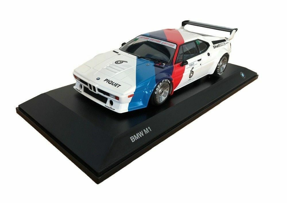BMW M1 PROCAR 1 18 scale model miniature voiture de collection Blanc 80432454788