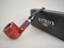 Rattray's Pfeife Red Lion Bordeaux Rot Glatt 60 9mm Filter #1795