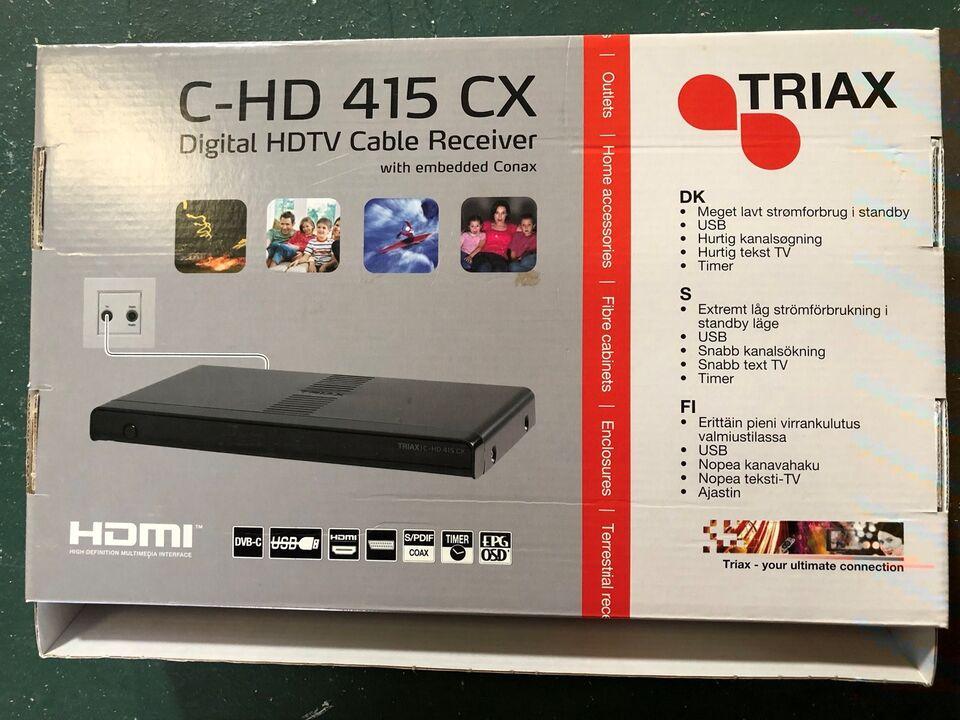 Digital receiver, Triax, Perfekt