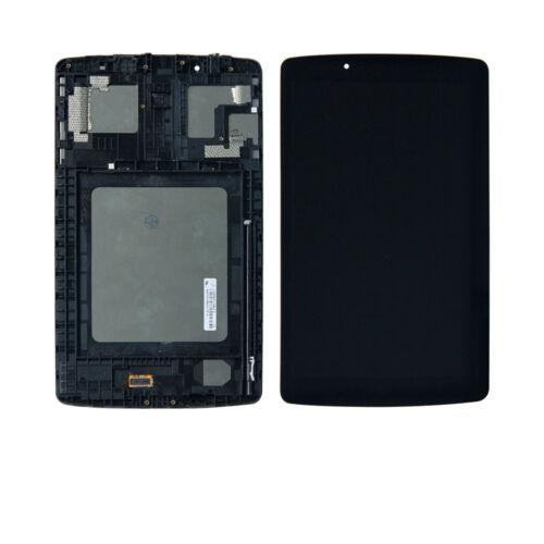For LG G PAD F 8.0 LG-V495 V495 UK495 V496 LCD Screen Digitizer Touch+Frame TKS