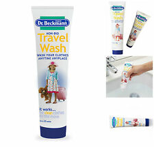 Dr Beckmann Travel Wash 20 Washes Non Bio Concentrated Holiday Essential 100ml